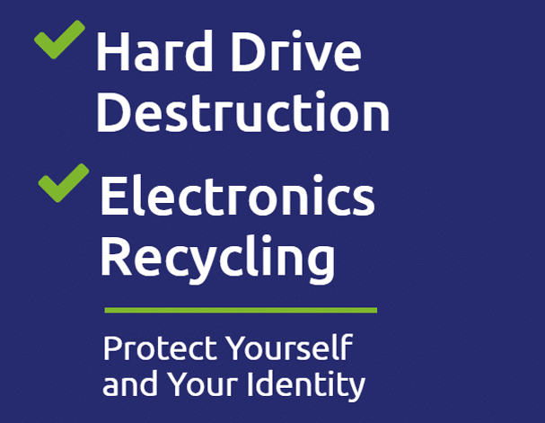 Data Recycling NE Hard drive Destruction and Electronic Recycling